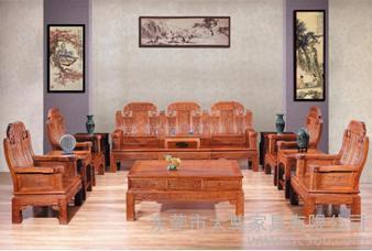 供应--红木家具非黄如意沙发