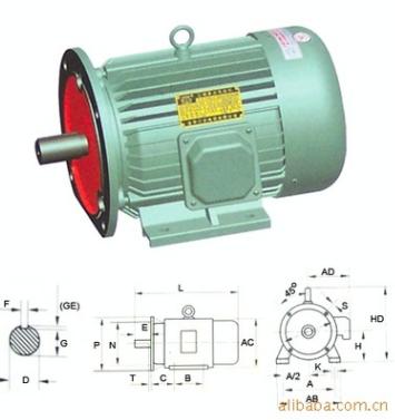 Y系列三相异步电动机立卧式Y80-Y132
